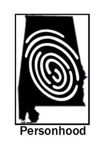 Personhood Alabama Thumbprint